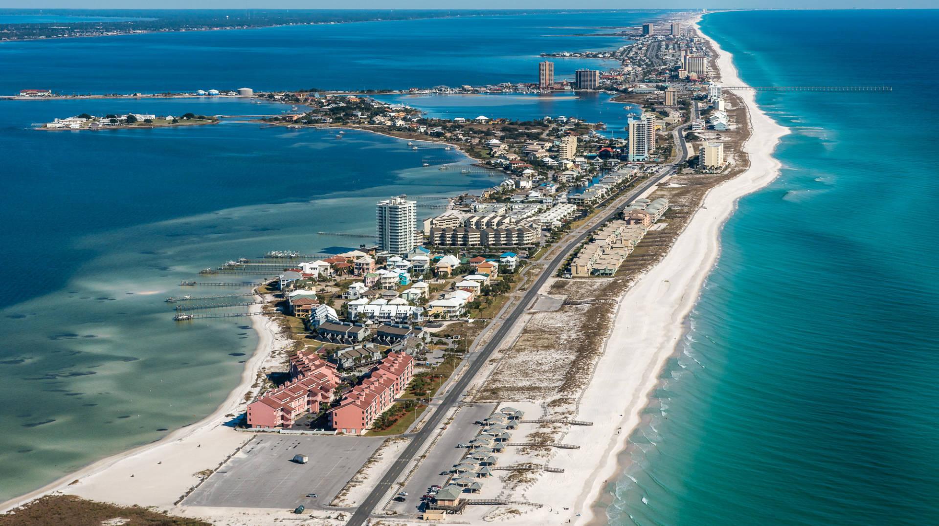 Pensacola Beach, FL United States - Santa Rosa Dunes #615 Pictures with santa pensacola fl